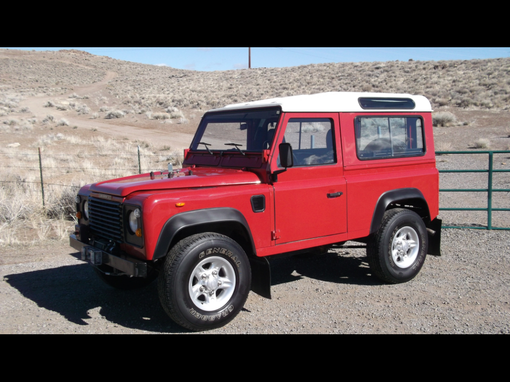 1988 Land Rover Defender 90 2-Door 4WD