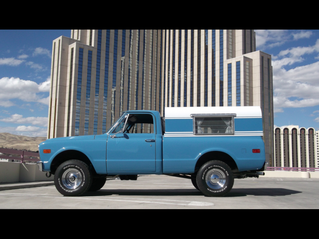 1968 GMC 1/2 Ton Pickups Fleetside 117.5