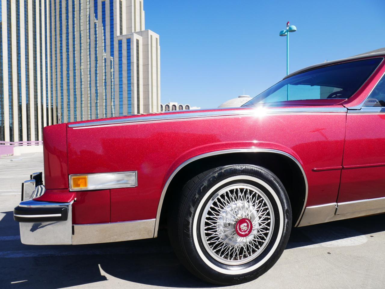 1985 Cadillac Eldorado 2dr Convertible Biarritz