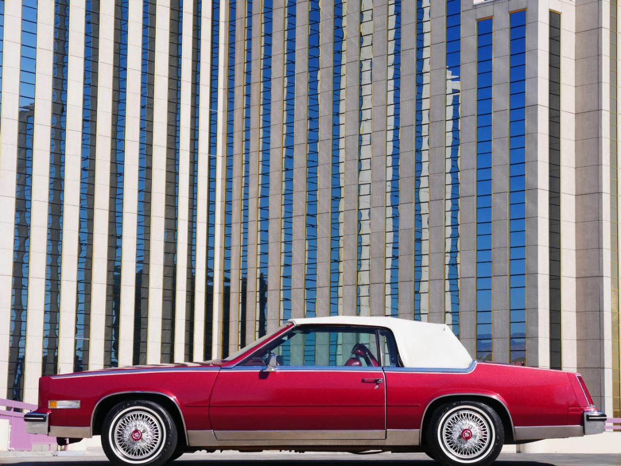 Cadillac Eldorado 2dr Convertible Biarritz 1985