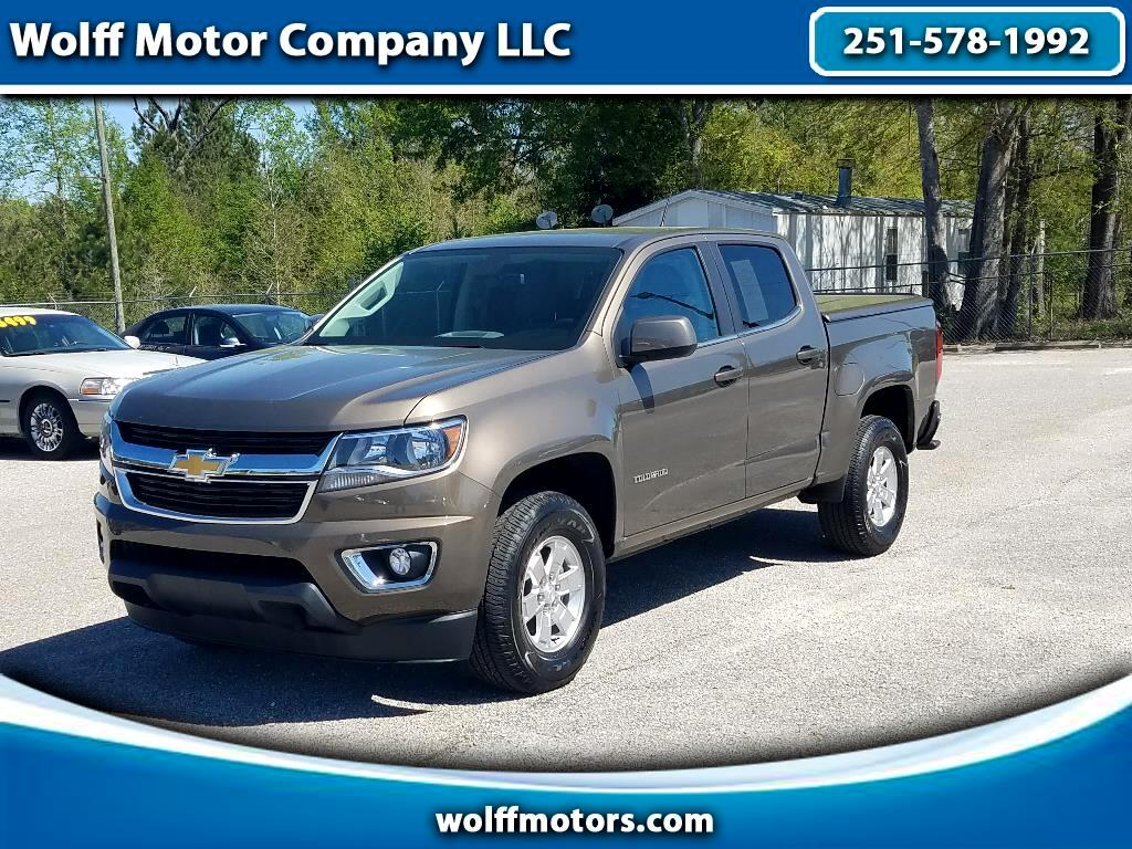 2017 Chevrolet Colorado Work Truck Crew Cab 2WD Short Box