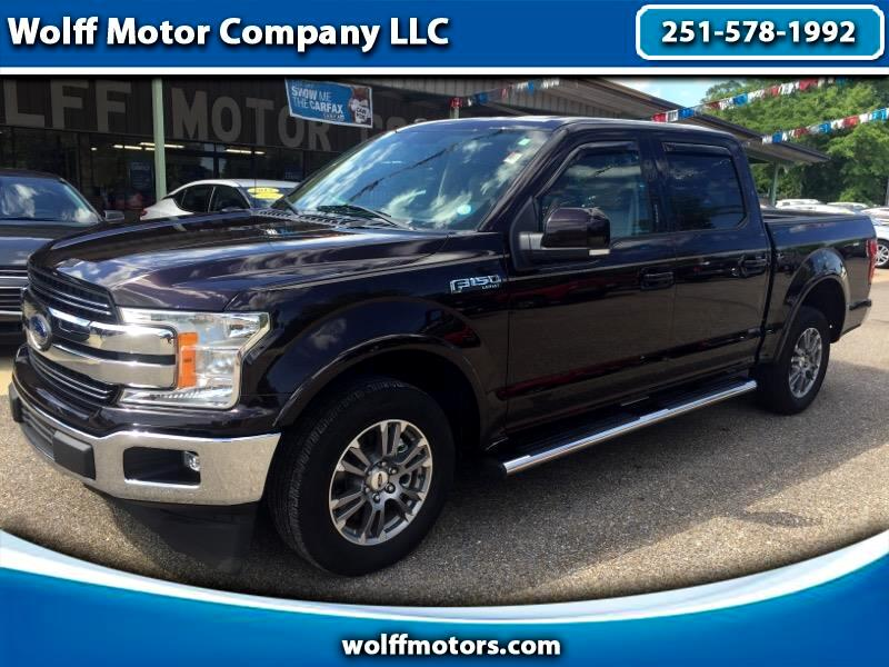 "2018 Ford F-150 2WD SuperCrew 150"" Lariat"