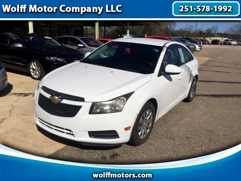 Chevrolet Cruze 4dr Sdn LT w/1LT 2011