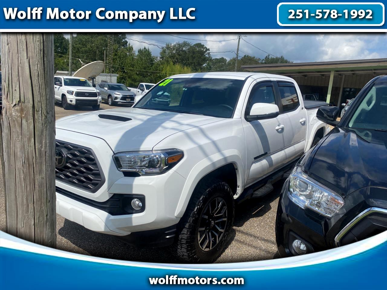 Toyota Tacoma 2WD TRD Off Road Double Cab 5' Bed V6 AT (Natl) 2021