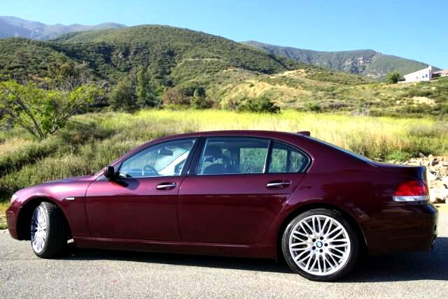 2008 BMW 7-Series 750LI SPORT PREMIUM PKG AND REAR DVD