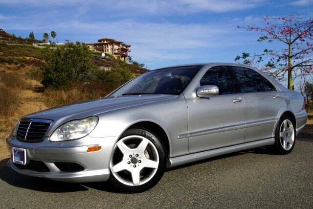 2004 Mercedes-Benz S-Class S500
