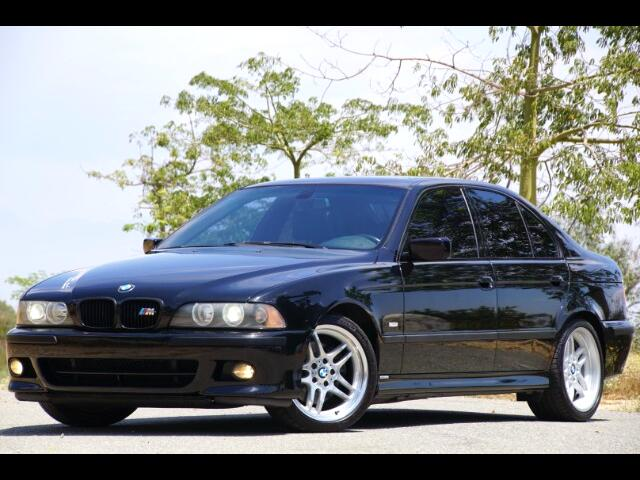 2003 BMW 5-Series 540i M SPORT PKG WITH NAVIGATION
