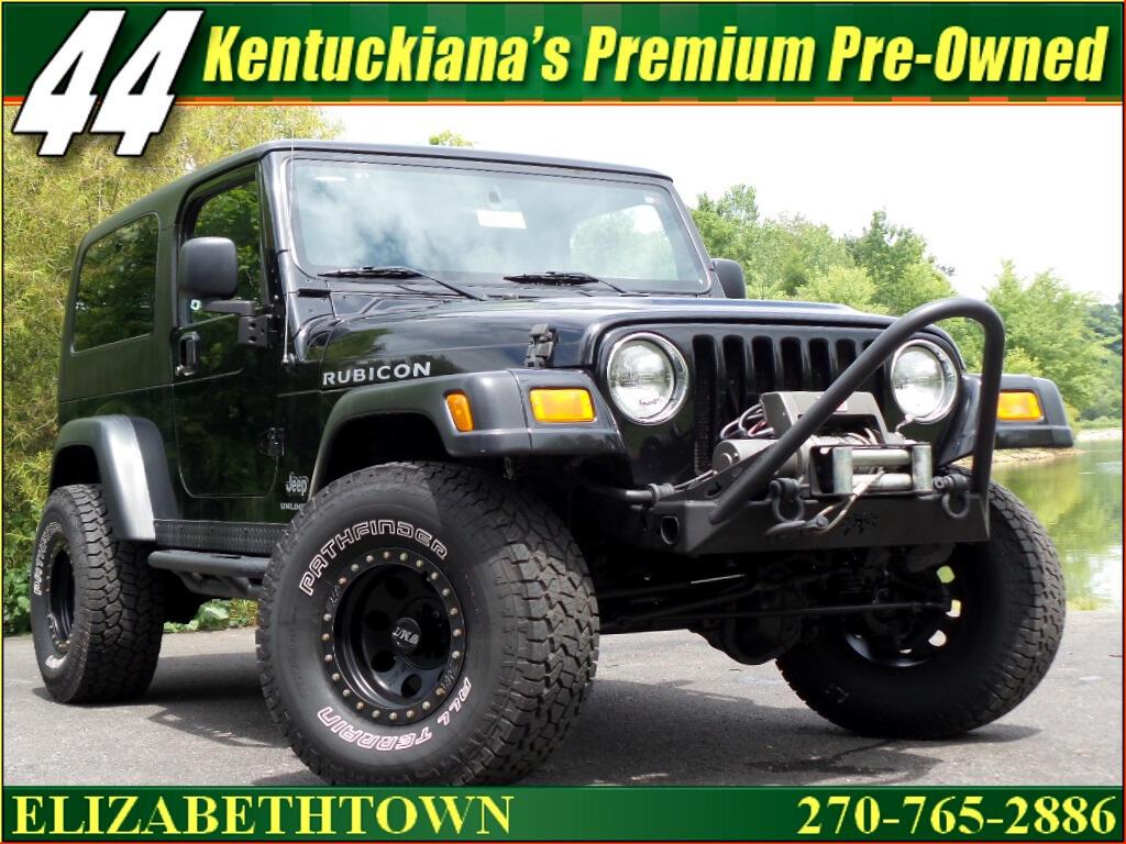 2006 Jeep Wrangler Unlimited Rubicon 4WD