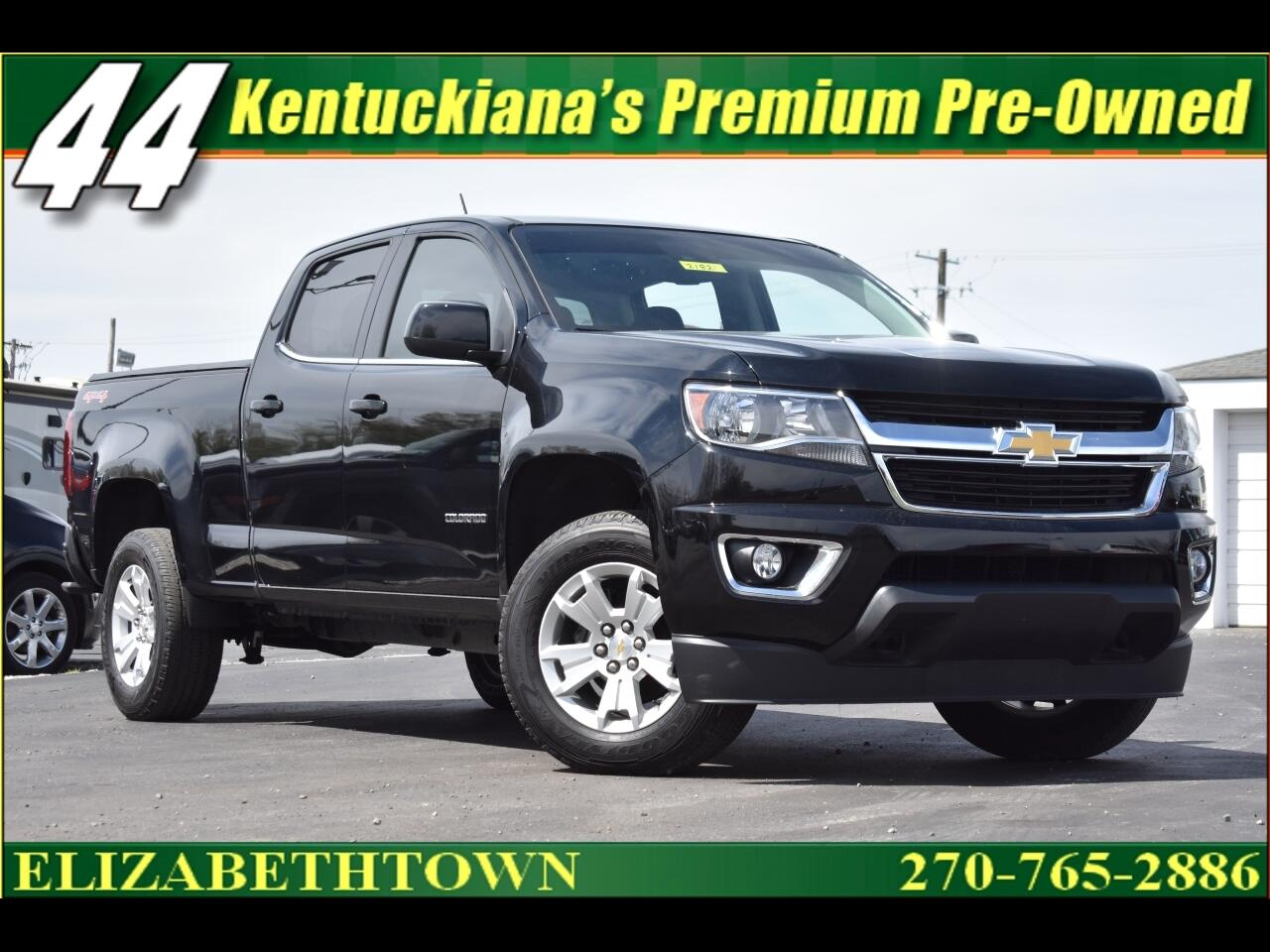 "2017 Chevrolet Colorado 4WD Crew Cab 140.5"" LT"