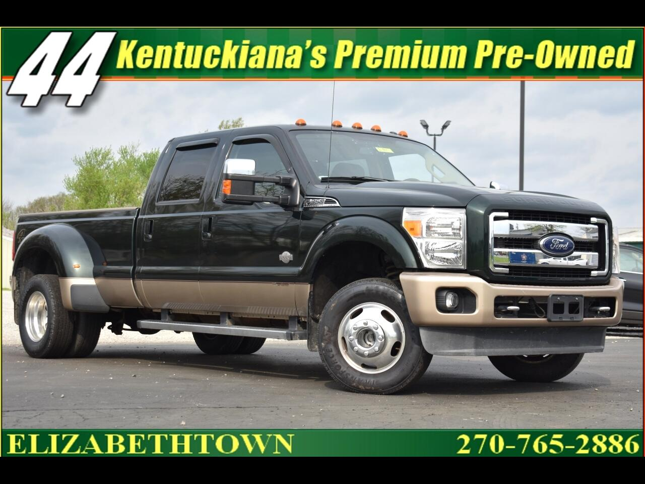 2013 Ford F-350 SD King Ranch Crew Cab 4WD DRW