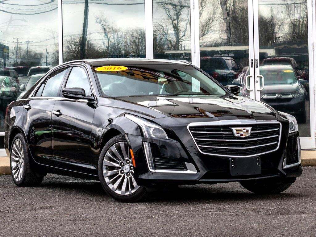 Cadillac CTS 2.0L Turbo Luxury AWD 2016