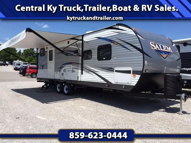 2018 Forest River Salem 27DBK BUNK HOUSE