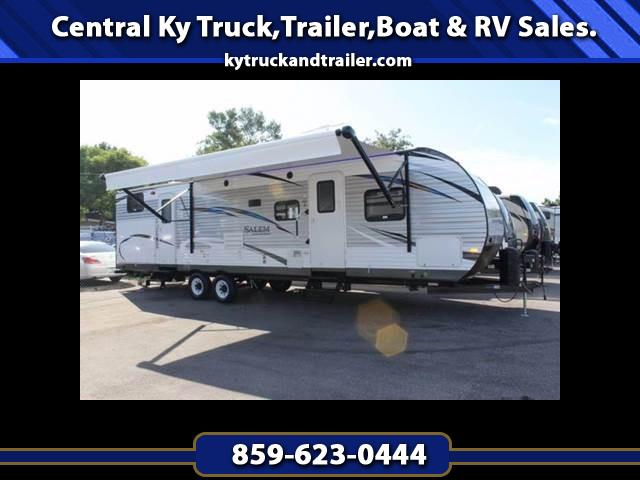 2018 Forest River Salem 32BHDS DOUBLE SLIDE