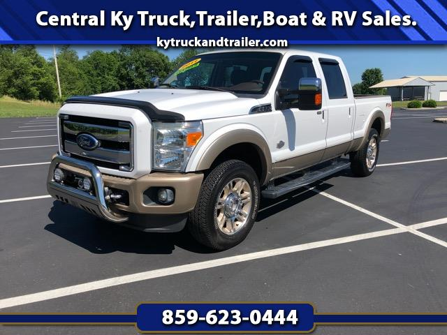 2011 Ford F-250 HD Crew Cab King Ranch Crew Cab 4wd