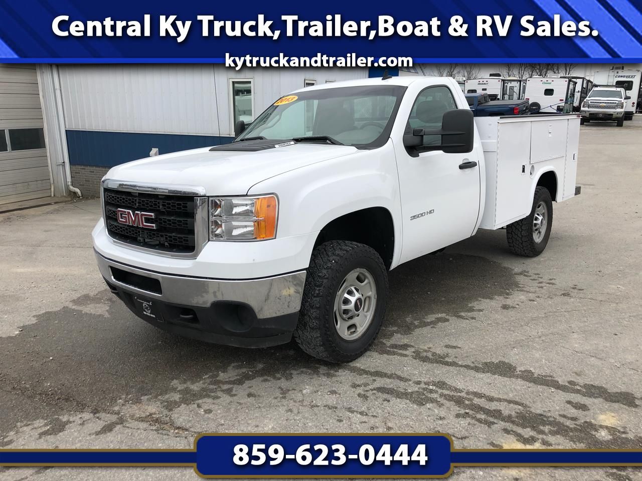 2013 GMC Sierra 3500HD Work Truck Long Box 4WD