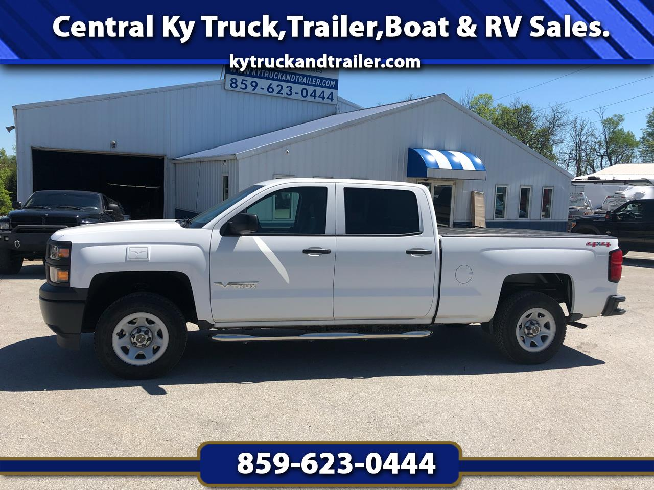 "2014 Chevrolet 1/2 Ton Pickups Fleetside 117.5"" WB 4WD"