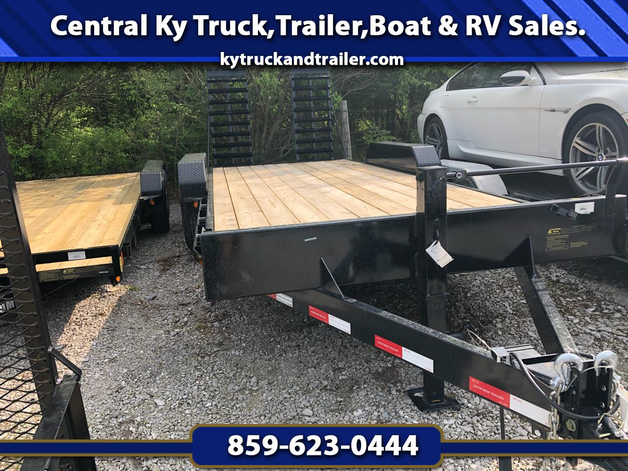 2019 Gatormade 18 GT-XT 18+2 equipment trailer