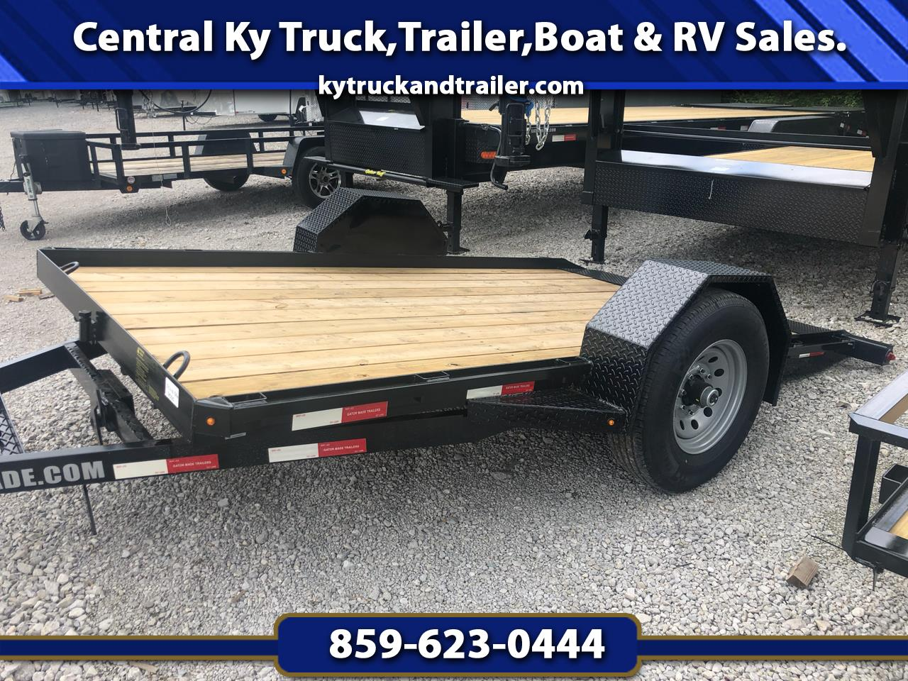 2019 Gatormade 6x12 Trailer 7000# TILT Heavy Duty