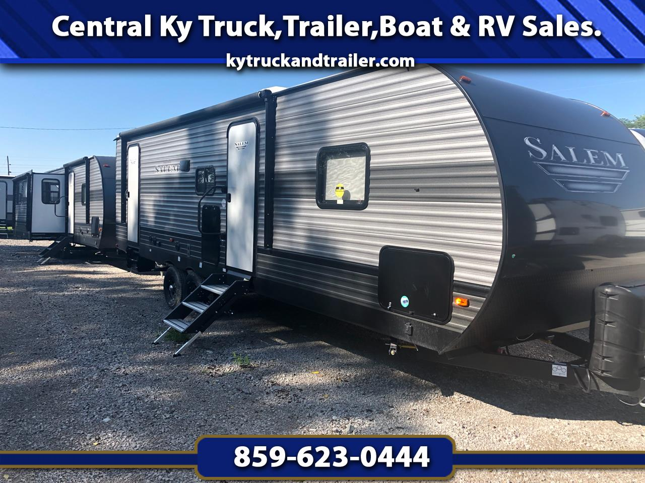 2019 Forest River Salem 26FT DOUBLE BUNK HOUSE