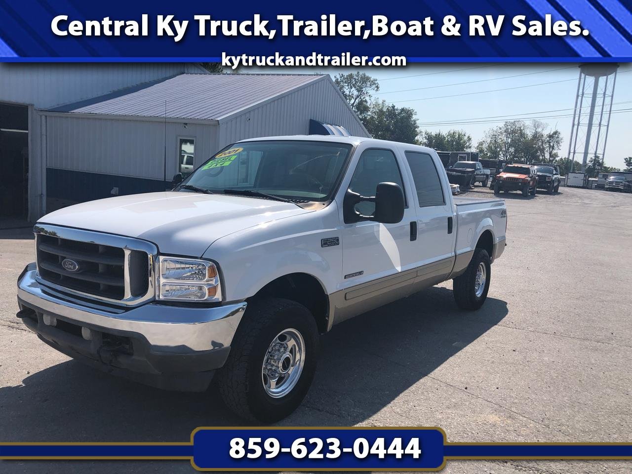 """Ford F-250 Crew Cab 4dr 152.2"""" WB 4WD 2001"""