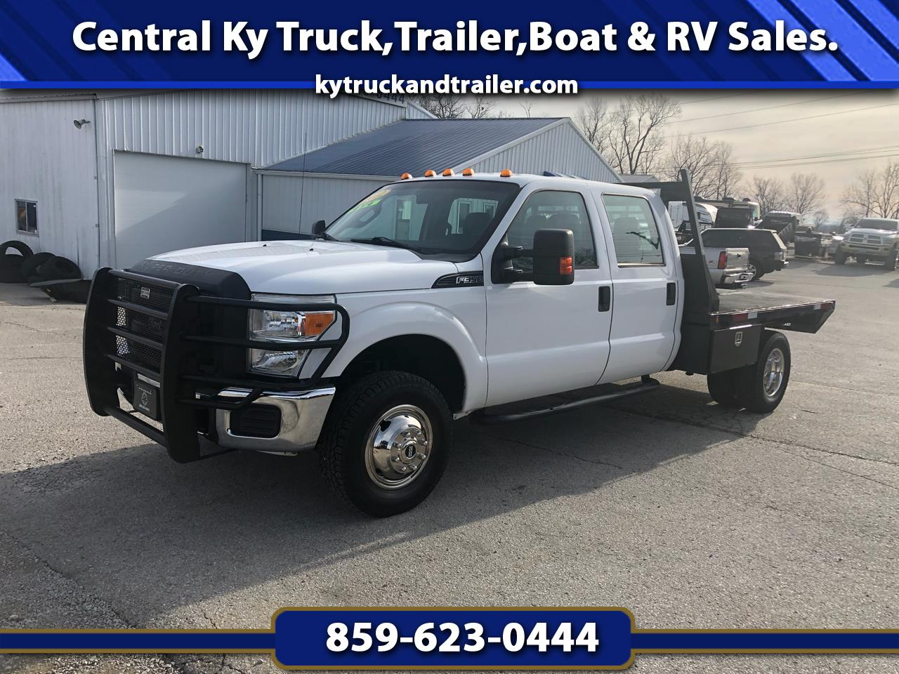 Ford F-350 SD XL Crew Cab Long Bed 4WD DRW 2012