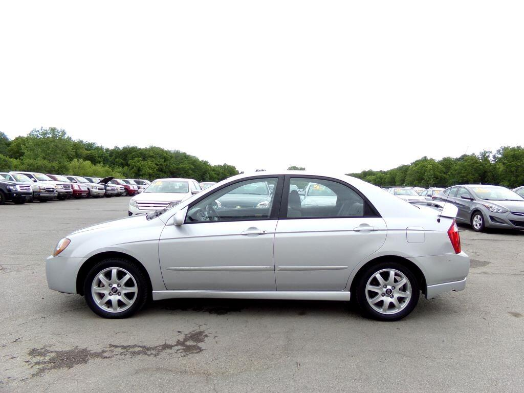 used 2005 kia spectra 4dr sdn lx manual for sale in independence mo 64050 cars plus credit. Black Bedroom Furniture Sets. Home Design Ideas