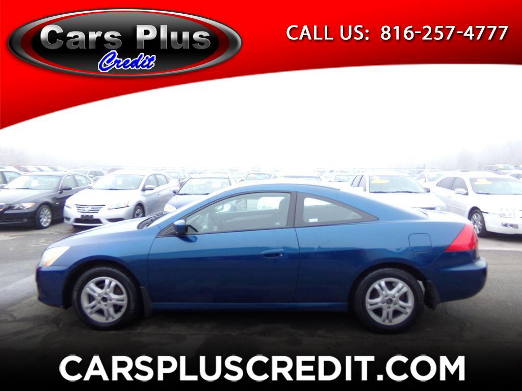 2007 Honda Accord Cpe 2dr I4 AT LX