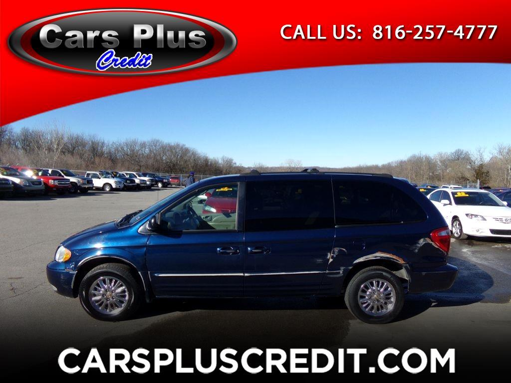 used 2002 chrysler town country 4dr lxi fwd for sale in independence mo 64050 cars plus credit. Black Bedroom Furniture Sets. Home Design Ideas