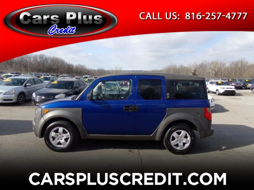 used 2004 honda element 4wd ex auto for sale in independence mo 64050 cars plus credit. Black Bedroom Furniture Sets. Home Design Ideas