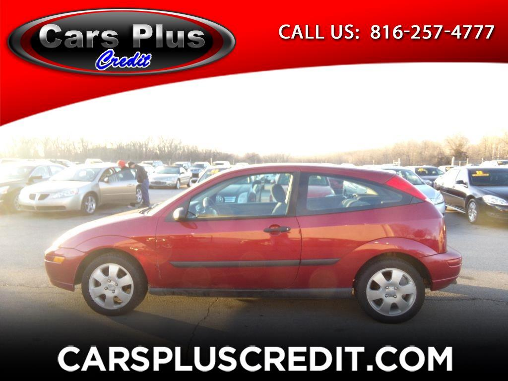 2002 Ford Focus 3dr Cpe ZX3 Base