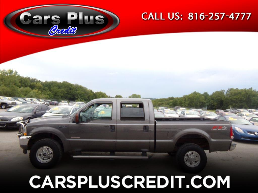 "2004 Ford Super Duty F-350 SRW Crew Cab 156"" XL 4WD"