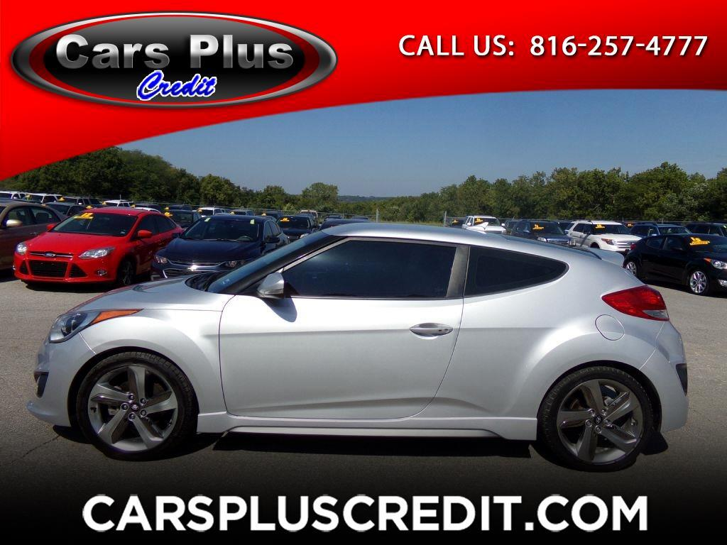 Used 2013 Hyundai Veloster 3dr Cpe Auto Turbo W Black Int