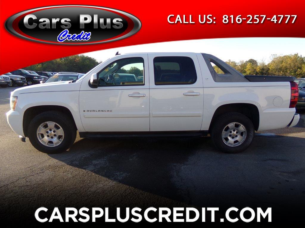 "2008 Chevrolet Avalanche 4WD Crew Cab 130"" LT w/1LT"
