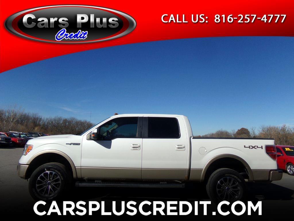 """Ford F-150 4WD SuperCrew 145"""" Platinum 2012"""