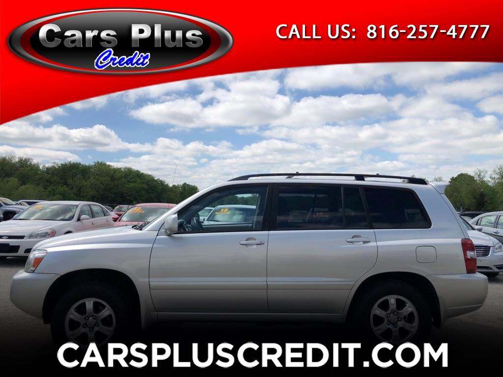 Toyota Highlander 2WD 4dr V6 Limited w/3rd Row (Natl) 2007