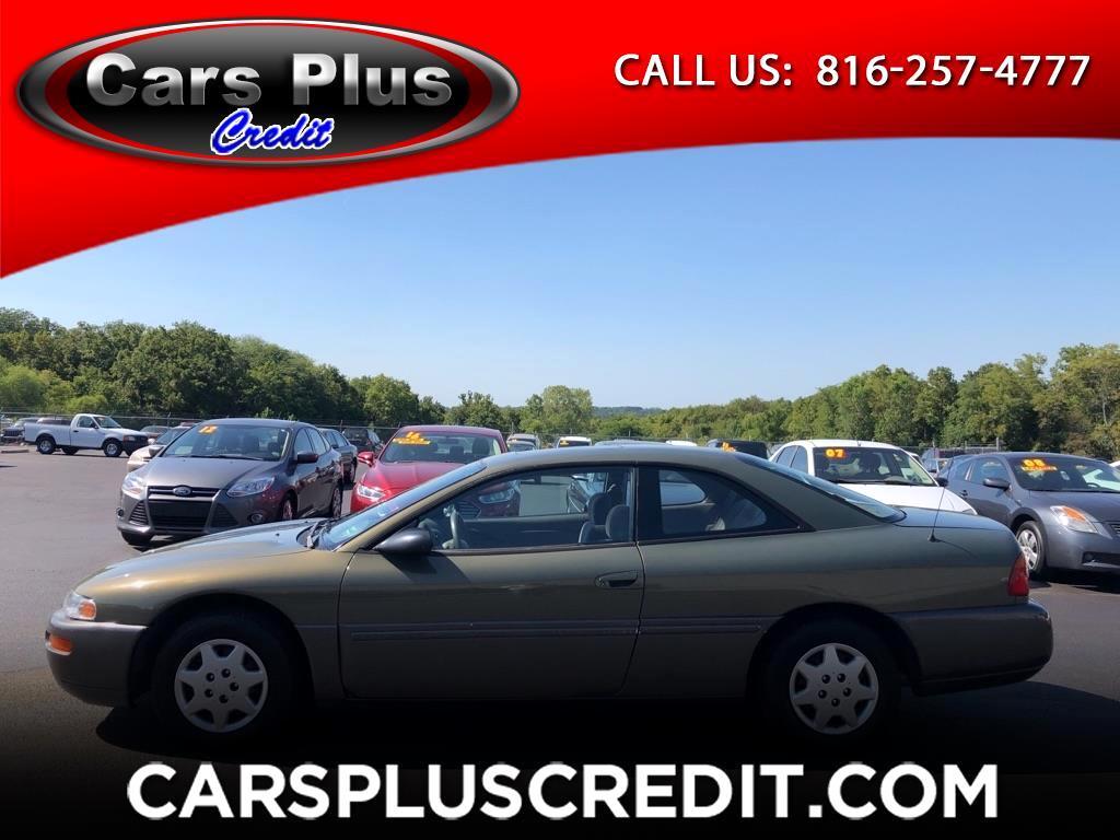 Chrysler Sebring 2dr Cpe LX 1996