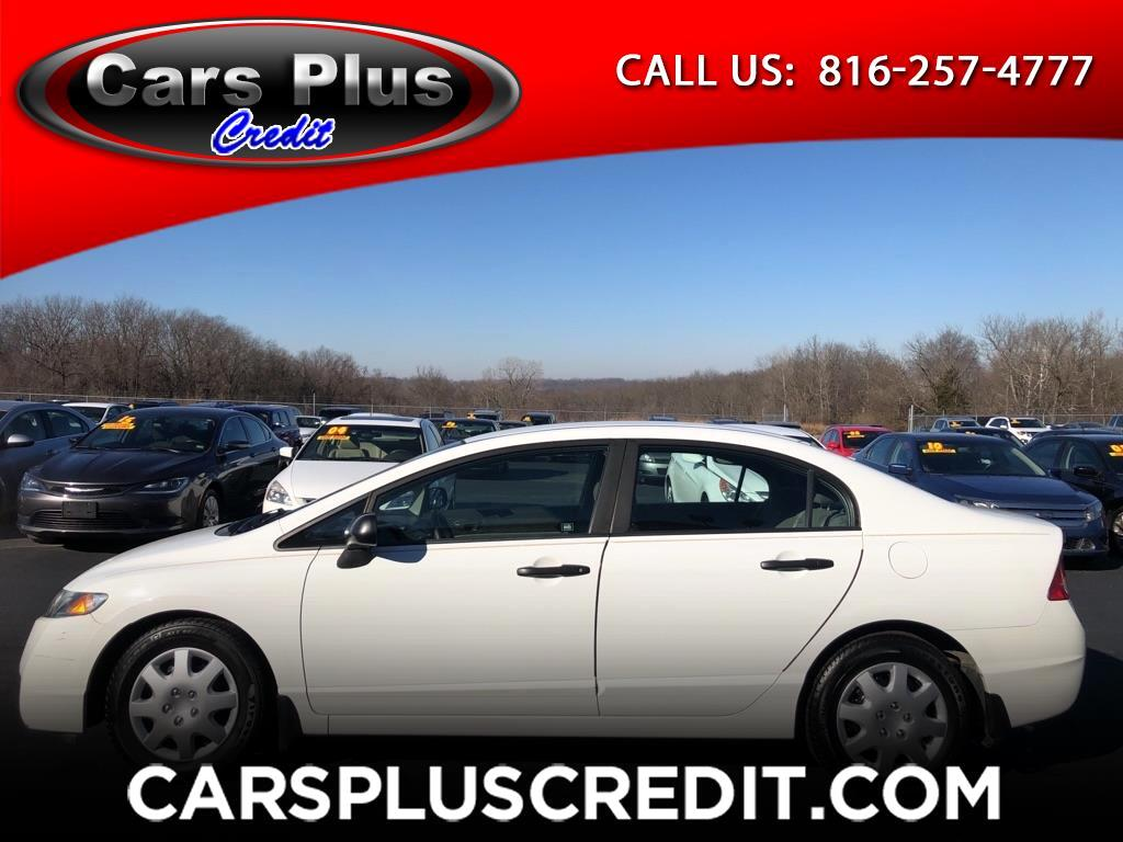 Honda Civic Sdn 4dr Auto DX-VP 2010