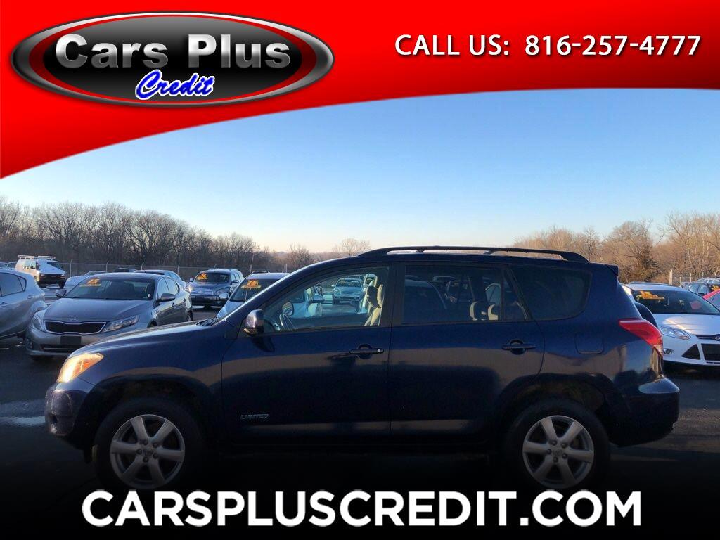 Toyota RAV4 4WD 4dr 4-cyl Limited (Natl) 2007