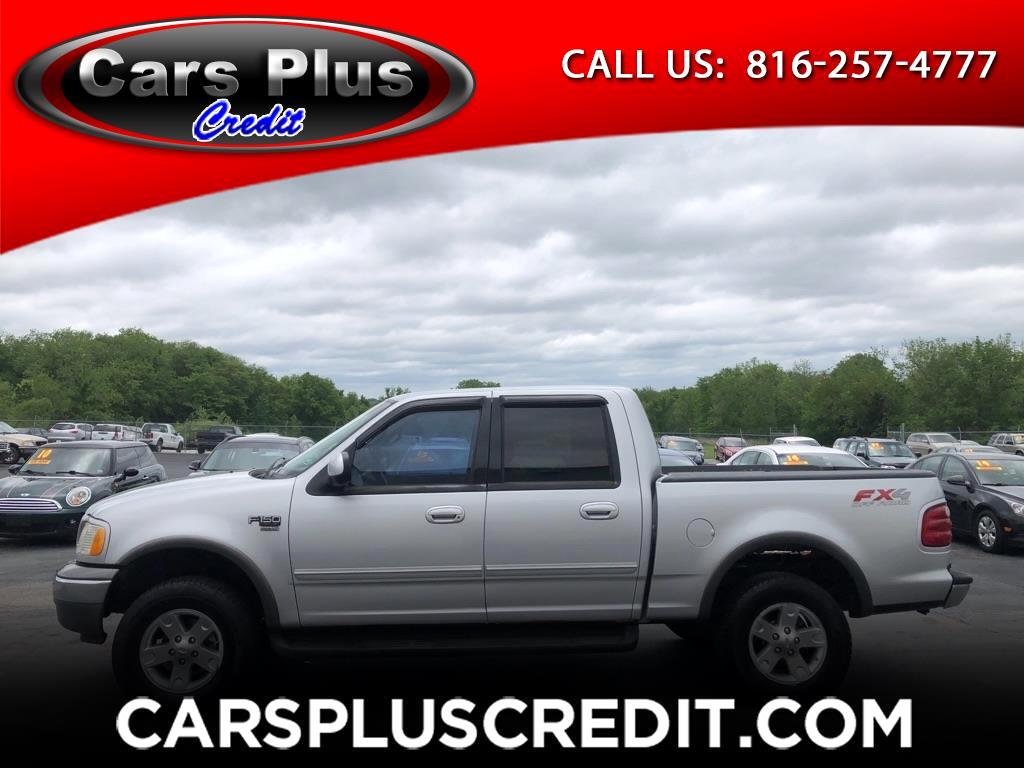 Ford F-150 XLT SuperCrew Short Bed 4WD 2002