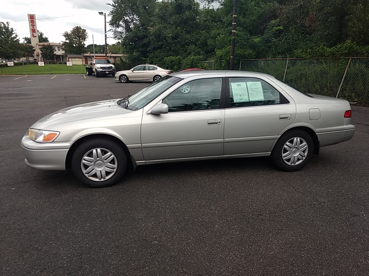 used 2001 toyota camry le for sale in gloucester city nj. Black Bedroom Furniture Sets. Home Design Ideas