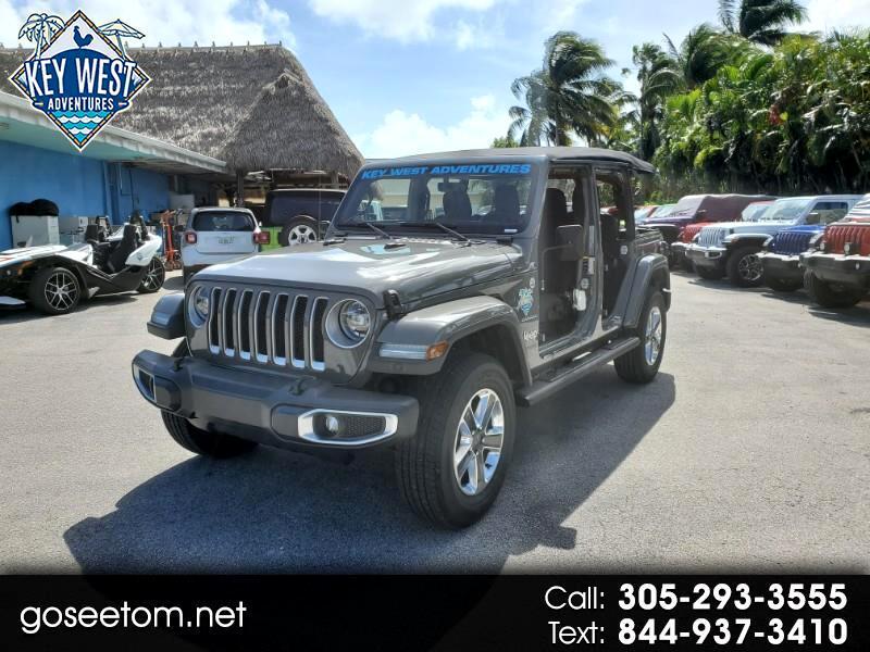 Jeep Wrangler Unlimited Sahara 2021