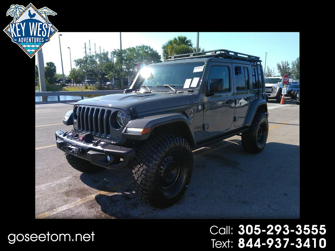 Jeep Wrangler Unlimited Moab 4x4 2018