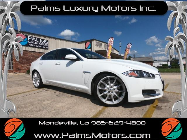 2013 Jaguar XF-Series XF Supercharged 5.0L V8 w/Nav, 20