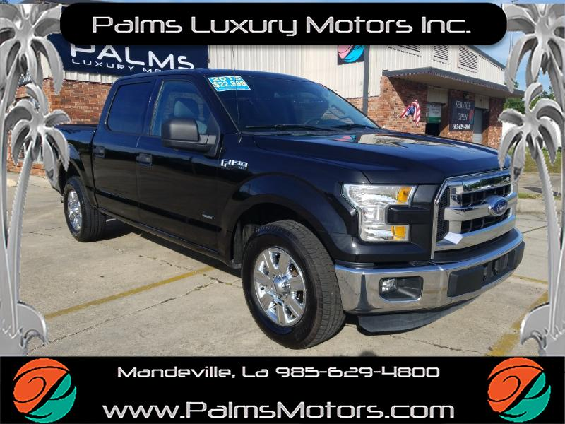 "2015 Ford F-150 XLT Super Crew, 18"" Wheels, bluetooth and more."