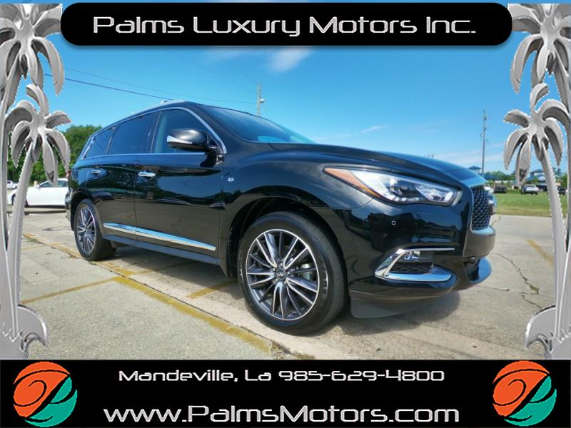 2017 Infiniti QX60 Deluxe Touring, Pano Roof, Rear DVD, Collision Avo