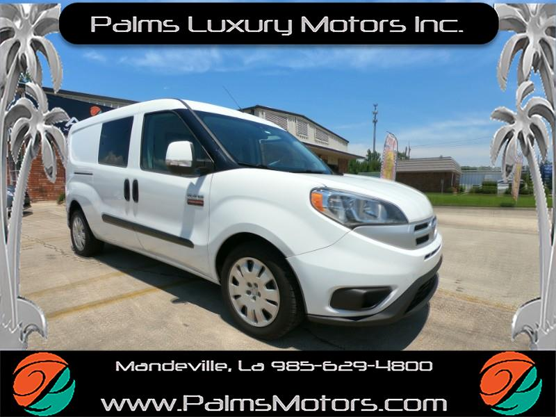 2016 RAM ProMaster City Cargo SLT w/Roll out Storage, Bluetooth, Rear Came