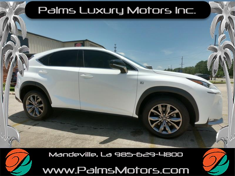 2016 Lexus NX 200t F-Sport, Rear Camera, Leather, Much More