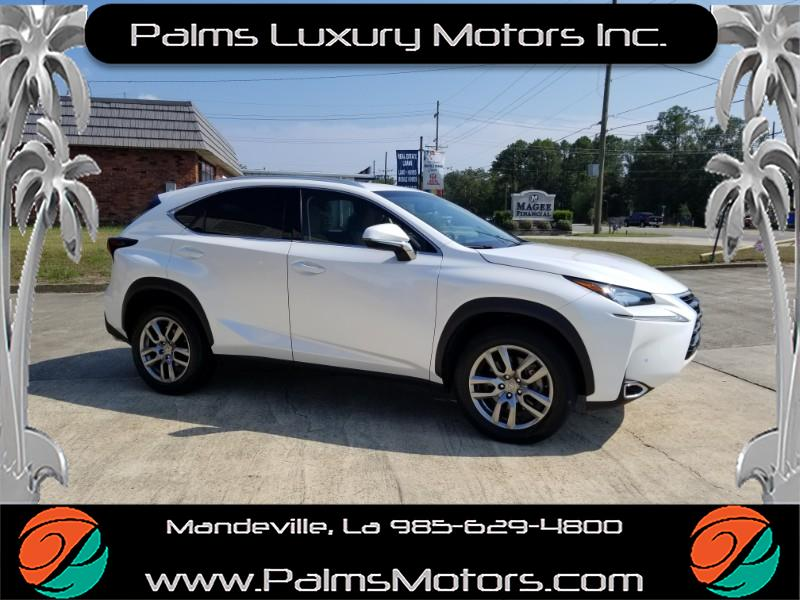 2016 Lexus NX 200t Blind Spot, Heated & Cooled Seats, Sun Roof, and m