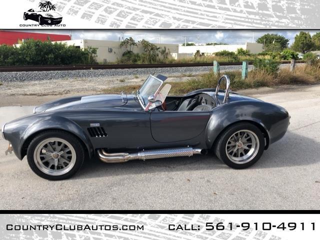 1965 Backdraft Racing Custom Cobra RT3
