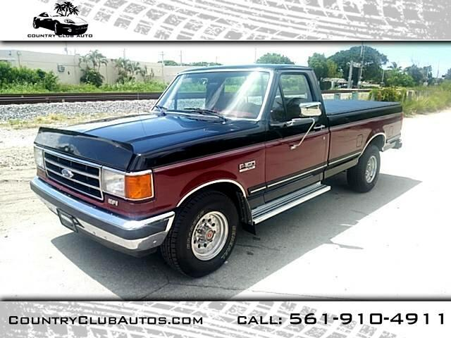 1991 Ford F-150 S Reg. Cab Short Bed 2WD